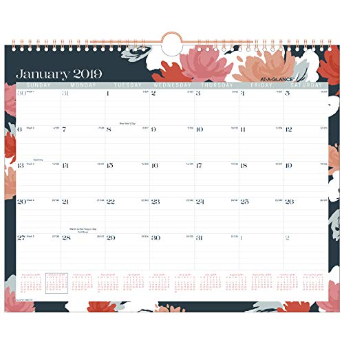 AT-A-GLANCE 2019 Monthly Wall Calendar, 15