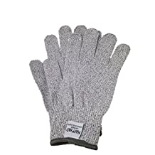 Kaffyad Level 5 Cut Resistant Kitchen and Work Safety Gloves. Protection from Knives, Mandolines & Graters - Best for cutting meat, filleting fish or shucking oysters. (Size Large, 2 Pack)