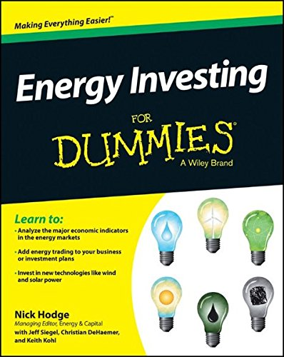 Energy Investing Dummies Nick Hodge product image