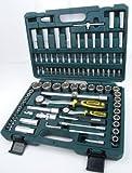 Mannesmann 1/4 Plus 1/2-inch Socket Set Super Lock System (94 Pieces) by Br¨¹der Mannesmann