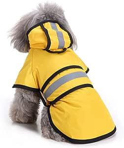 TUOTANG Chubasquero para Perros Impermeable para Mascotas Poncho ...