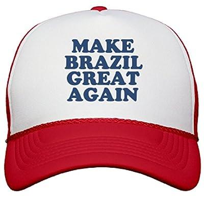 Make Brazil Great Again Hat: Snapback Mesh Trucker Hat