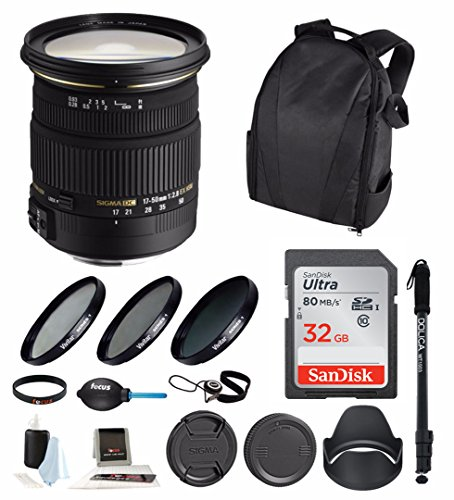 Sigma 17-50MM F2.8 EX DC OS HSM Zoom Lens for Canon with ...