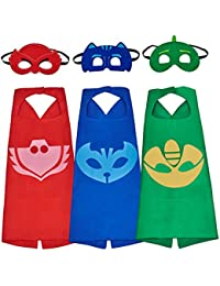 Babylian Masks Costumes Mask with Cape for Kids (Set of 3)