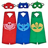 Toys : babylian PJ Masks Costumes, Super Hero Dress Up Costumes With Masks and Capes For Kids (3 In Pack)