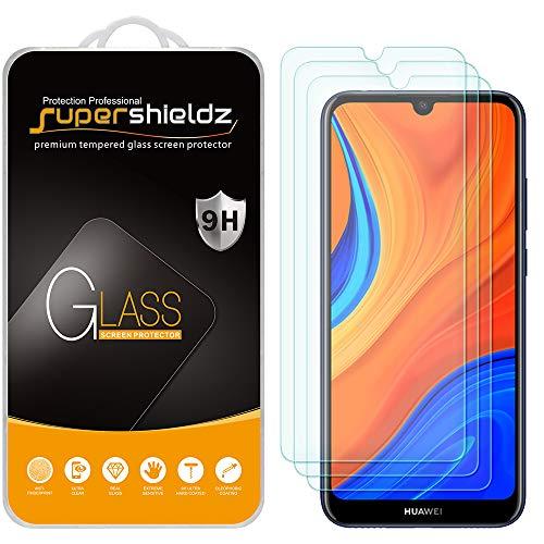 Vidrio templado para Huawei Honor 8A Prime [3un.] Supershiel