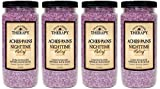 Village Naturals Therapy, Mineral Bath Soak, Aches and Pains Nighttime Relief, 20 oz, Pack of 4