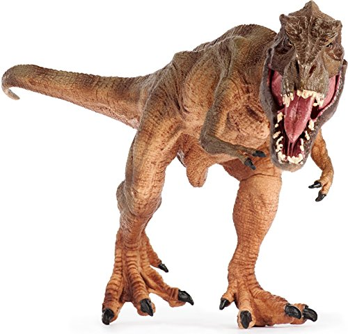 Lifeliko Tyrannosaurus Rex Toy Action Figure – Realistic Design Jurassic Park T-Rex Dinosaur Toy – Ideal Gift for Toddlers or even Grown up Boys – Moving Jaw, Natural Color and Exquisite (Dinosaur Costume Adults Realistic)
