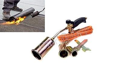 Soplete soldador de gas, para quemar revestimientos y asfalto