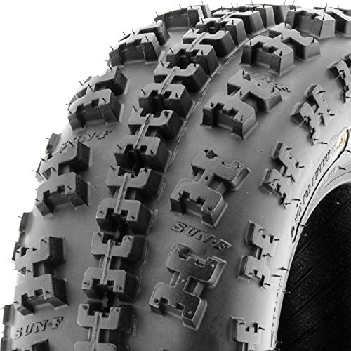 Set of 4 SunF A027 ATV Tire 22x7-10 Front & 22x10-9 Rear by SunF (Image #6)