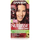 Garnier® Nutrisse® Ultra Color Nourishing Color Creme-The non-drip hair color formula spreads easily, smells great, and the after-color conditioner is infused with 3 fruit oils - avocado, olive and shea - for silkier, shinier, more nourished hair