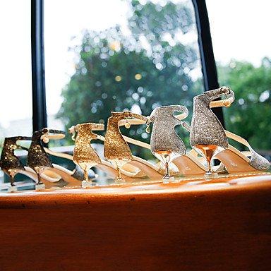 Soirée Polyuréthane Femme Talons amp; ggx PailletteTalon Paillettes à Chaussures Escarpin Habillé LvYuan silver Escarpin Basique Eté Marche Basique Evénement PHwn8