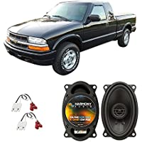 Fits Chevy S-10 Pickup 1994-2001 Front Dash Factory Replacement Harmony HA-R46 Speakers