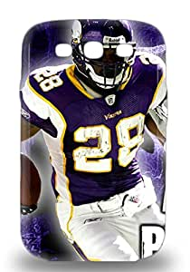 NFL Minnesota Vikings Adrian Peterson #28 Fashionable Phone 3D PC Case For Galaxy S3 With High Grade Design ( Custom Picture iPhone 6, iPhone 6 PLUS, iPhone 5, iPhone 5S, iPhone 5C, iPhone 4, iPhone 4S,Galaxy S6,Galaxy S5,Galaxy S4,Galaxy S3,Note 3,iPad Mini-Mini 2,iPad Air )