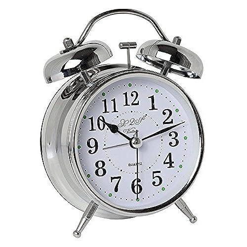 Wind Up Alarm Clocks With Loud Alarm Amazon Com