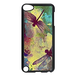 Dragonfly Vintage Customized Hard Plastic Cover Case fits iPod Touch 5th ipod5-linda19