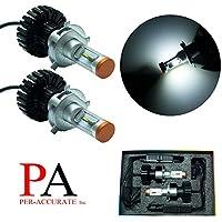 PA Pair H4 9003 P43T HS1 PHILIPS ZES LED 160W Headlight Bulb Kit Xenon White Lamp 6000K 11000LM White