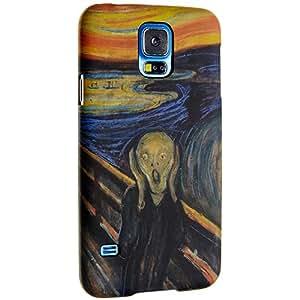 Flick & Flock The Scream–Carcasa Samsung S5