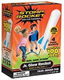 Stomp Rocket Jr. Glow, 4 Rockets [Packaging May Vary]