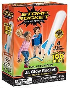 Stomp Rocket 806002 Junior Glow - Paquete de repuesto de cohetes