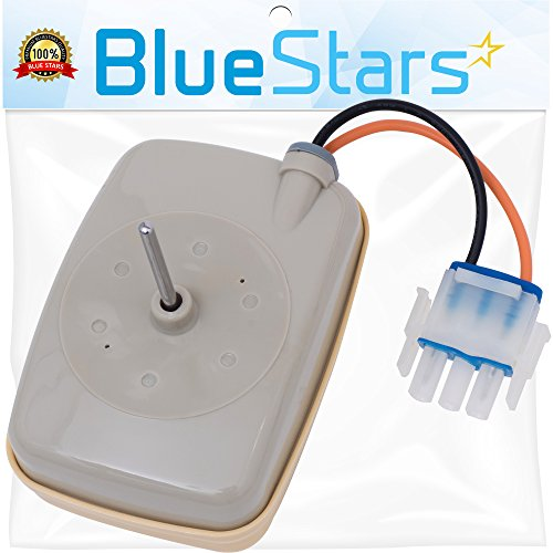 Ultra Durable WR60X10141 Refrigerator Evaporator Fan Motor Replacement by Blue Stars - Exact Fit for GE & Hotpoint Refrigerator - Replaces WR60x10138 WR60x10346 by BlueStars