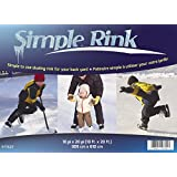 Gazebo Penguin 577623 Simple Skating Rink, 10-Feet x 20-Feet