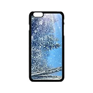 Beautiful Snowing Day Hight Quality Plastic Case for Iphone 6