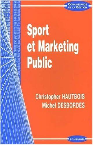 Livres gratuits en ligne Sport et Marketing Public pdf, epub