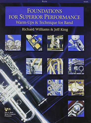 Technique Flute - W32FL - Foundations for Superior Performance: Warm-ups and Technique for Band : Flute