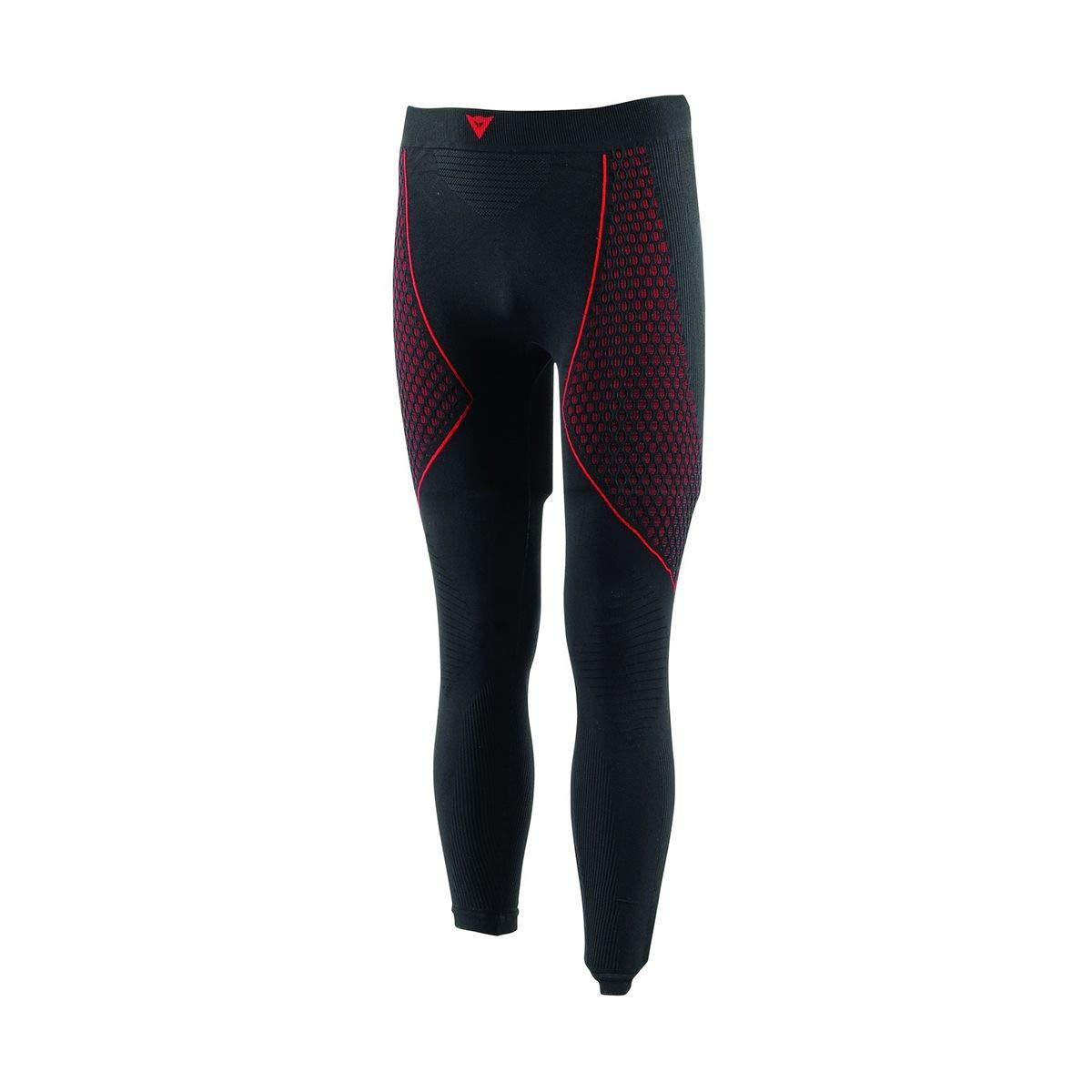 Dainese-D-CORE THERMO Pantalon LL, Noir/Rouge, Taille L 1915944_604_L