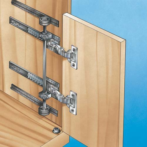 Rack And Pinion Flipper Door System   Long Version With 26u0027u0027 Slide.    Cabinet And Furniture Hinges   Amazon.com