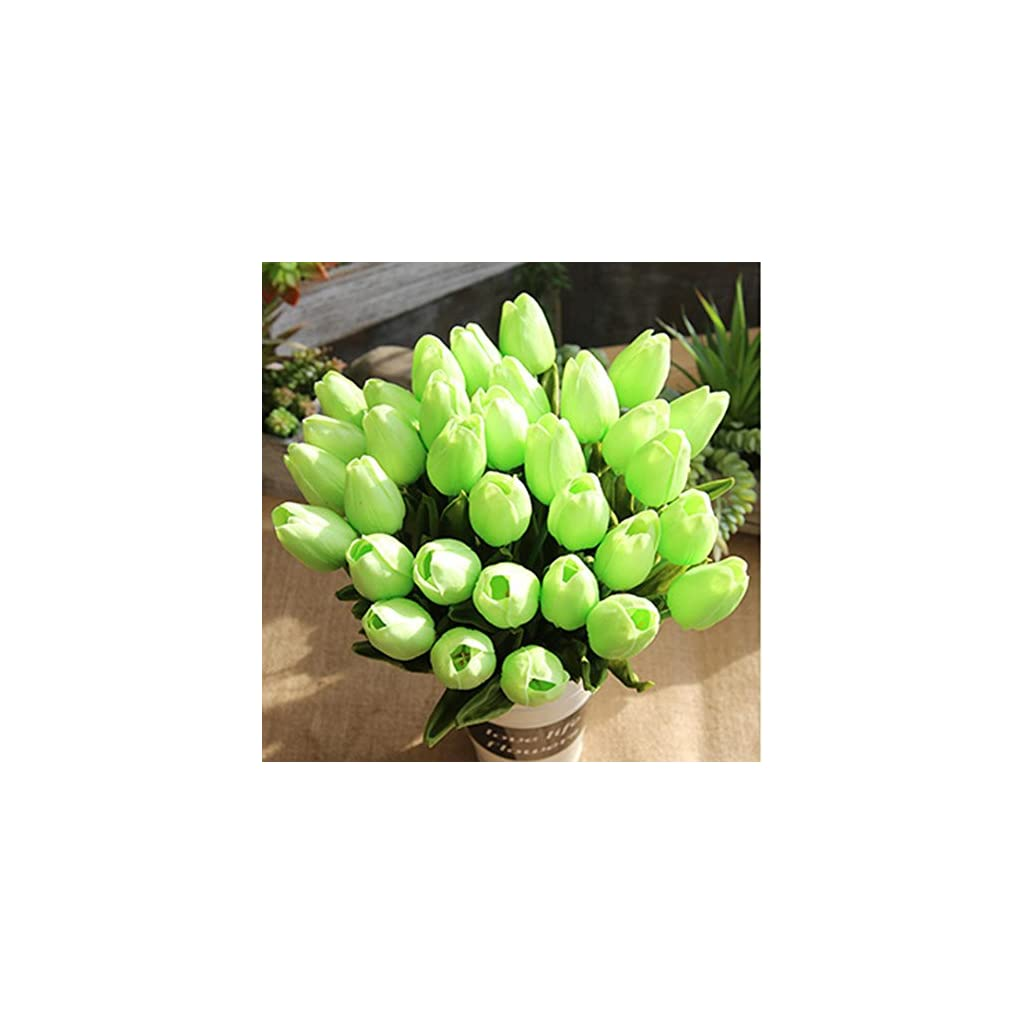 Bowake-Artificial-TulipClearance-5-pcs-Holland-Tulips-Flowers-with-Latex-Look-Like-Real-Eco-friendly-Odourless-Artificial-Flowers