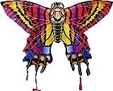 X-Kites StratoKites Butterfly Rip-Stop Nylon Kite, 40'' Wide