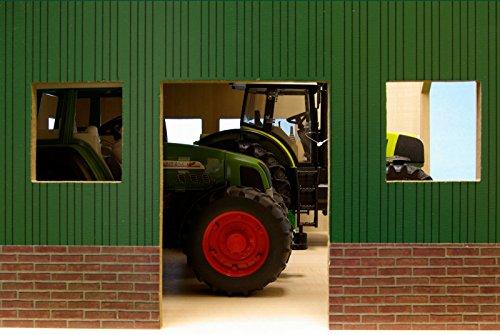 Niños Globe 1000570 - Hangar / garaje para maquinaria agrícola: Amazon.es: Juguetes y juegos