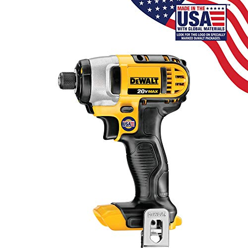 Dewalt DCF885BR 20V MAX Cordless Lithium-Ion 1 4 in. Impact Driver Bare Tool Renewed