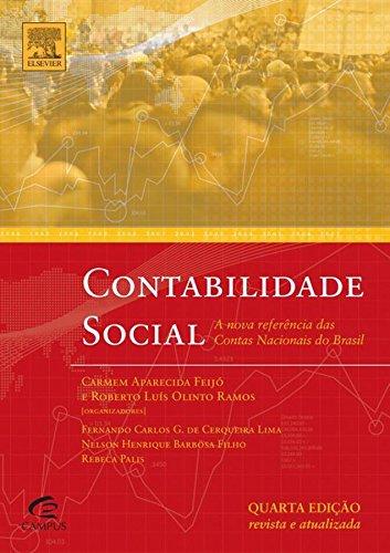Contabilidade Social: Referencia atualizada das contas nacionais do Brasil