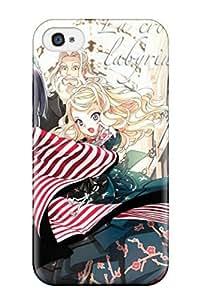 Christoper Premium Protective Hard Case For Iphone 4/4s- Nice Design - Ikoku Meiro No Croisee