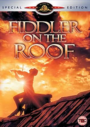roof strategy fiddler on the roof dvd 1971 amazoncouk topol norma crane