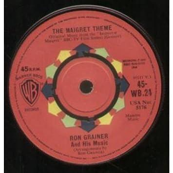 MAIGRET THEME 7 INCH UK WARNER BROS 1960: RON GRAINER ...