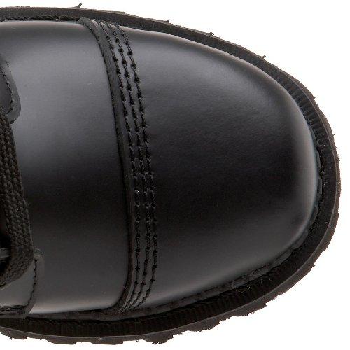 Demonia Rocky-10, Botines para Hombre Schwarz (Schwarz (Blk Leather))