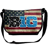 Men Women Vintage Big Ten Conference Classic Shoulder Bag Satchel Sling Bag