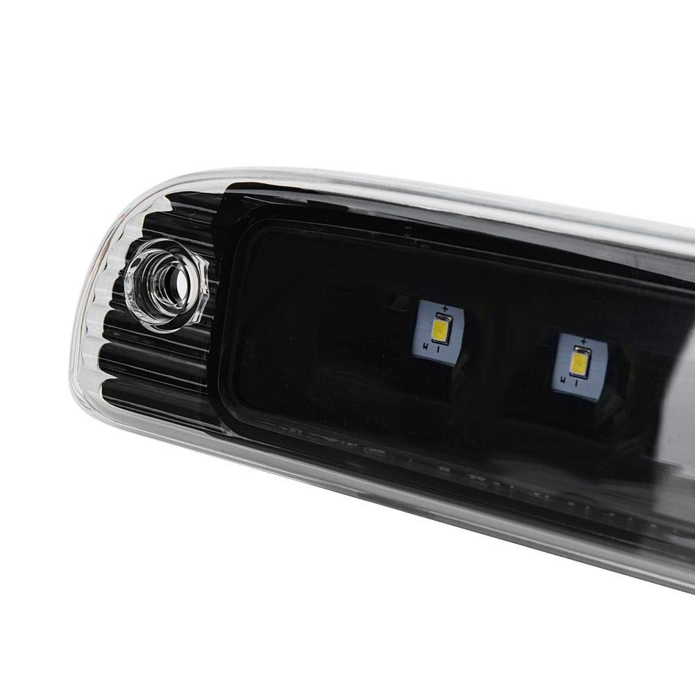 Farbe : Black+Clear Schwarz + Klar, Schwarz + Rauch, Chrom + Klar 1 ST/ÜCK der dritten Bremsleuchte f/ür Dodge Dakota 97-07 schwarzes Geh/äuse Outbit Drittes Bremslicht klares Glas