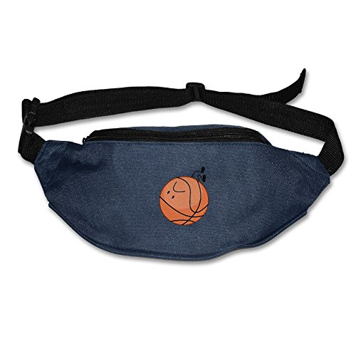 Basketball Pose Running Belt Adjustable Navy Waist Fanny Pack Bum Bag Hiking Fitness Runners Waist Bag For Men - Nice Pictures Pose