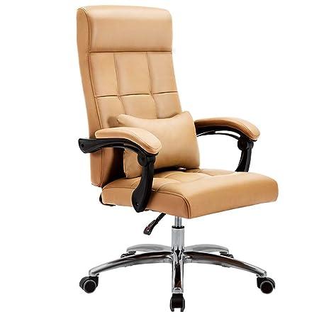 Sedia Poltrona Da Ufficio Ergonomica Reclinabile Con Poggiapiedi 360 Gradi