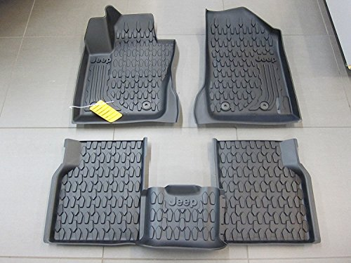 Jeep Compass Slush Style All Weather Floor Mats MY Body Style Mopar OEM