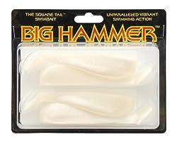 Big Hammer Swimbait, Pearl, 5-inch