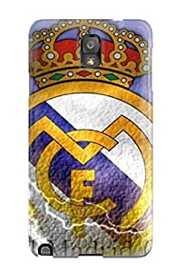 [Ahnlsip6936oWgnz] - New Real Madrid Fc Logo Protective Galaxy Note 3 Classic Hardshell Case
