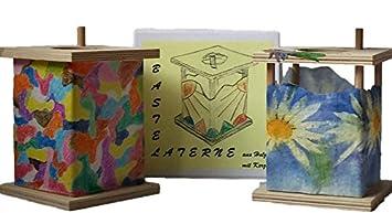 Amazon.de: dekorative laterne aus holz zum selber basteln led