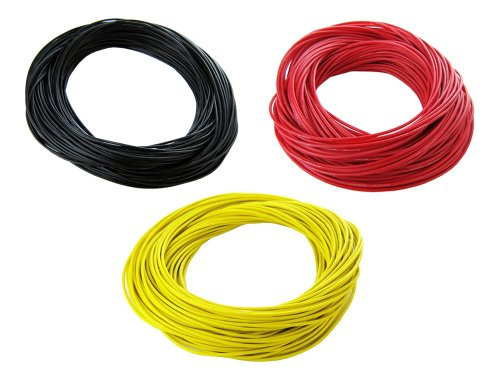 Silicone Wire Strand Gauge Yellow