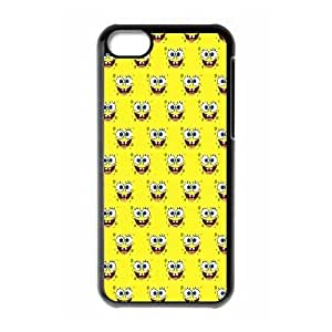 iPhone 5c Cell Phone Case Black Sponge Bob 001 YD657602